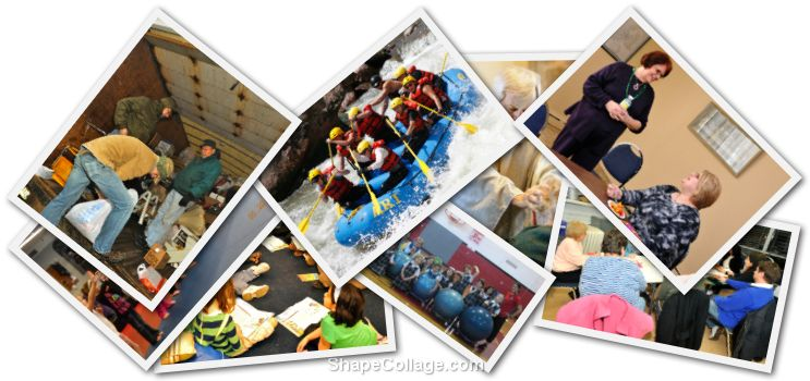 Collage of Pictures from Around St. Pius X